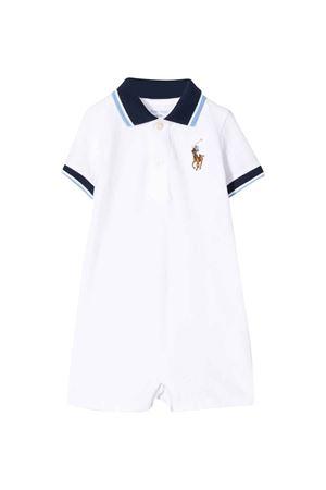Tutina bianca Ralph Lauren kids RALPH LAUREN KIDS | 1491434083 | 320786574007