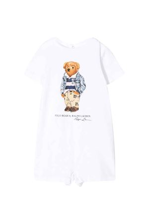 White romper with press Ralph Lauren Kids RALPH LAUREN KIDS | 1491434083 | 320787299001
