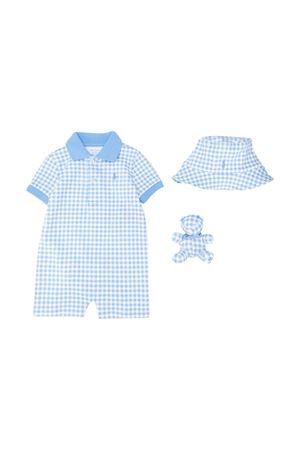 Set a quadretti azzurri Ralph Lauren kids RALPH LAUREN KIDS | 75988882 | 320790381001
