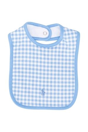 Bavetta a quadrati blu Ralph Lauren kids RALPH LAUREN KIDS | -546332730 | 320790778001