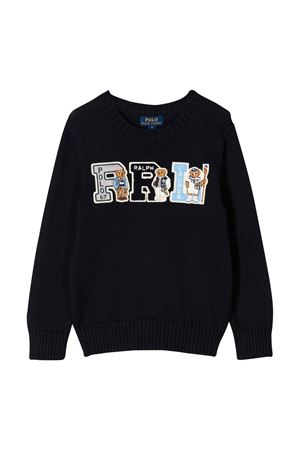 Maglione blu navy Ralph Lauren kids RALPH LAUREN KIDS | 7 | 321787102001