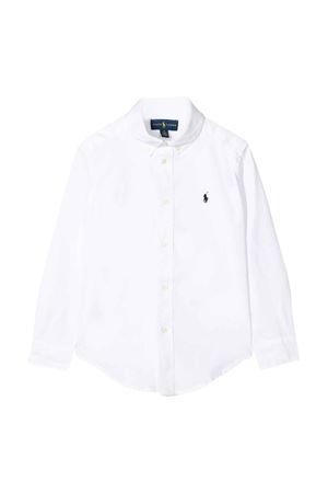 Camicia bianca Ralph Lauren kids RALPH LAUREN KIDS | 5032334 | 322600259005