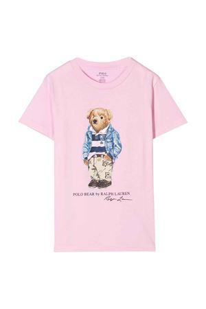 T-shirt rosa Ralph Lauren kids RALPH LAUREN KIDS | 8 | 322785928004