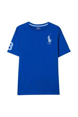 T-shirt blue royal teen Ralph Lauren Kids RALPH LAUREN KIDS | 8 | 323770177012T