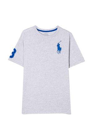 T-shirt grigia teen Ralph Lauren kids RALPH LAUREN KIDS | 8 | 323770177014T