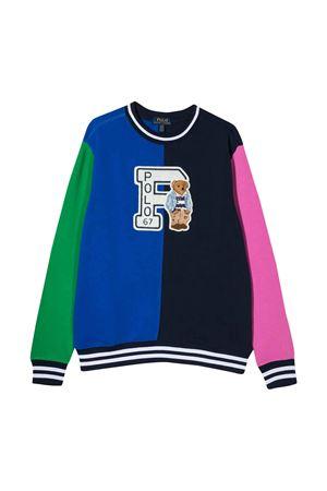 Multicolor teen Ralph Lauren kids pull  RALPH LAUREN KIDS | 7 | 323785947001T