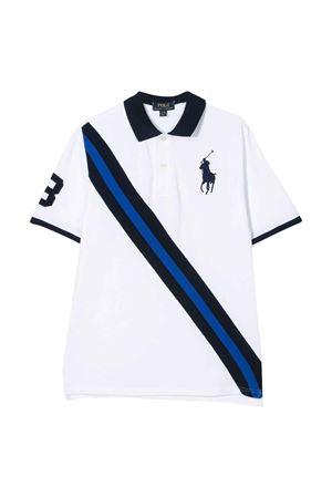 White teen Ralph Lauren kids polo shirt  RALPH LAUREN KIDS | 2 | 323786342002T