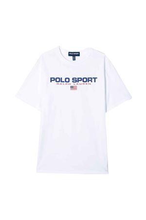 T-shirt bianca teen Ralph Lauren kids RALPH LAUREN KIDS | 8 | 323795487002T