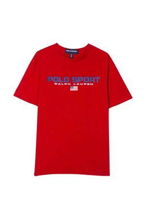 T-shirt rossa teen Ralph Lauren kids RALPH LAUREN KIDS | 8 | 323795487005T