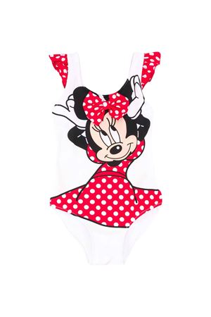 Costume bianco intero teen Minnie Saint Barth SAINT BARTH | 85 | CAROLMIPR01T
