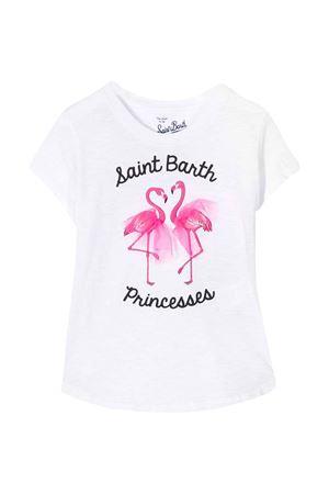 White t-shirt with frontal press Saint Barth SAINT BARTH | 8 | EMMASWFG01