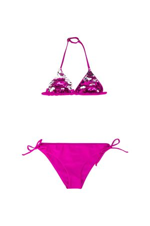Costume fucsia teen con lustrini Saint Barth SAINT BARTH | 85 | HOLLYP77ART