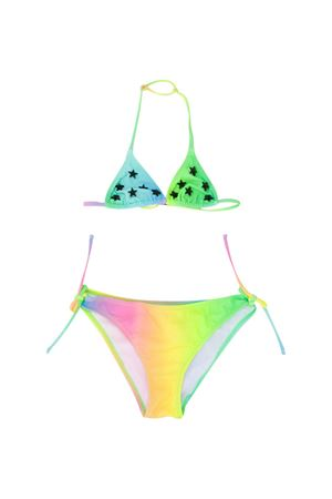 Bikini multicolor teen con stelle Saint Barth SAINT BARTH | 85 | HOLLYSTRWSCT