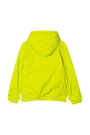 Impermeabile giallo teen con logo Save the Duck SAVE THE DUCK | 13 | J3915UOCTAX01740T