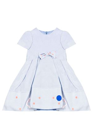 Light blue dress with bow Simonetta Simonetta | 11 | 1M1271MD460607