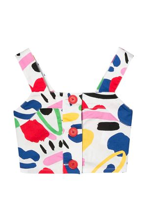 Multicolor teen top with buttons Stella McCartney kids STELLA MCCARTNEY KIDS | 40 | 588388SOK519084T