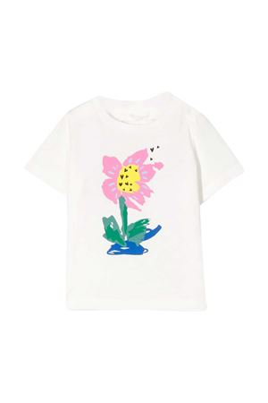 White t-shirt with multicolor press Monnalisa kids STELLA MCCARTNEY KIDS | 8 | 588428SOJ079232