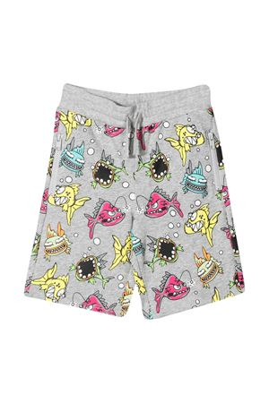 Shorts grigi con tasche laterali Stella McCartney Kids STELLA MCCARTNEY KIDS | 30 | 588612SOJC81456