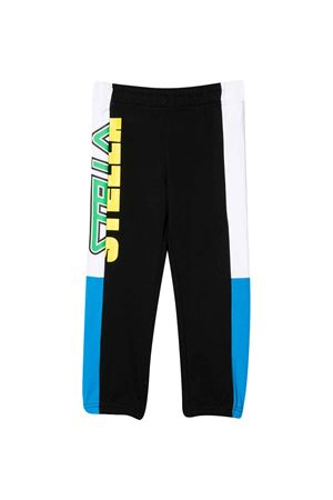Pantalone sportivo con stampa multicolor Stella McCartney kids STELLA MCCARTNEY KIDS | 9 | 588644SOJ301073