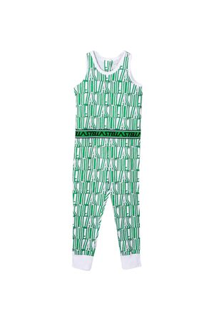 Green teen suit with elastic waistband Stella McCartney kids STELLA MCCARTNEY KIDS | 42 | 588649SOJ699087T