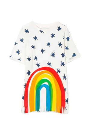 Abito bianco teen con stampa colorata Stella McCartney Kids STELLA MCCARTNEY KIDS | 11 | 588659SOJ619232T