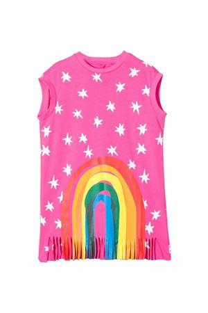 Pink teen dress with press Stella McCartney kids STELLA MCCARTNEY KIDS | 11 | 588660SOJ615563T