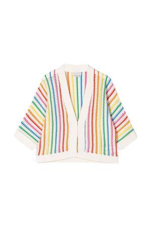 Cardigan a righe arcobaleno Stella McCartney kids teen STELLA MCCARTNEY KIDS | 39 | 588954SOM029232T