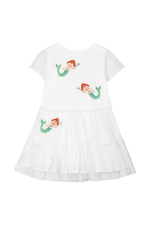 White dress with multicolor press Stella McCartney kids STELLA MCCARTNEY KIDS | 11 | 589377SOKF09232