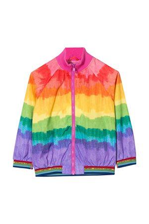Multicolour bomber jacket Stella Mccartney kids teen  STELLA MCCARTNEY KIDS | 3 | 596558SOKF68489T