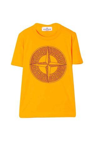 T-shirt arancione Stone Island Junior STONE ISLAND JUNIOR | 8 | 721621658V0F32