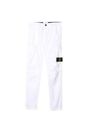 White Stone Island Junior trousers STONE ISLAND JUNIOR | 9 | 721630311V0001