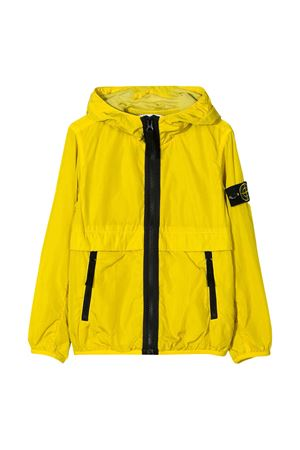 Yellow lightweight jacket with hood Stone Island junior STONE ISLAND JUNIOR | 13 | 721640132V0038