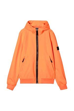 Orange lightweight jacket Stone Island junior teen  STONE ISLAND JUNIOR | 13 | 721640734V0F32T