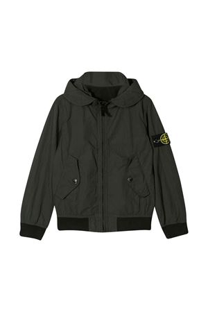 Stone Island Junior green parka STONE ISLAND JUNIOR | 13 | 721640930V0053