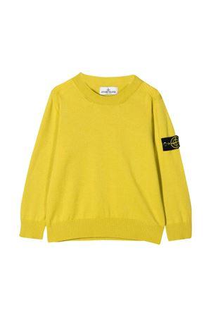 Yellow shirt Stone Island junior  STONE ISLAND JUNIOR | 7 | 7216502A4V0038T