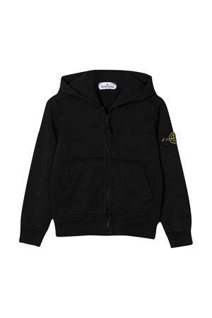 Black sweatshirt Stone Island junior  STONE ISLAND JUNIOR | -108764232 | 721660940V0029