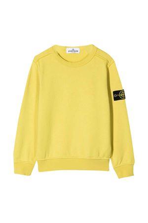 Yellow sweatshirt Stone Island junior  STONE ISLAND JUNIOR | -108764232 | 721661040V0038