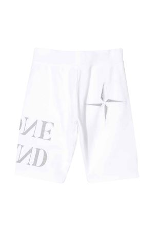 White shorts with logo Stone Island junior STONE ISLAND JUNIOR | 30 | 721661240V0001