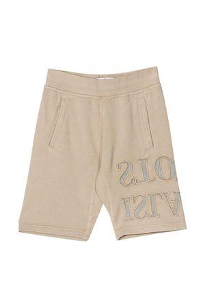 Shorts color sabbia con logo Stone Island junior STONE ISLAND JUNIOR | 30 | 721661240V0095