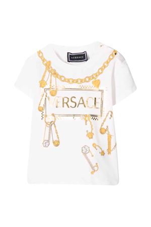 White t-shirt with press Young Versace YOUNG VERSACE | 8 | YA000122YA00019A1002