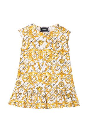 White sleeveless flared dress Young Versace YOUNG VERSACE | 11 | YA000144A233329A7001