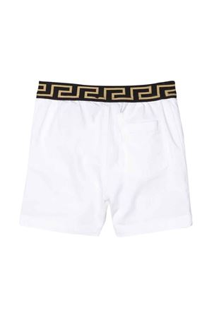 White shorts with rear logo band Young Versace YOUNG VERSACE | 30 | YB000101A233747A1002