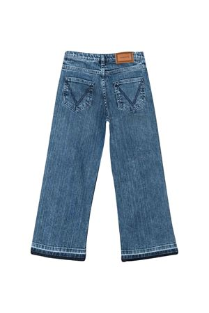 Jeans con logo in pelle Young Versace YOUNG VERSACE | 9 | YC000185A233589A8378