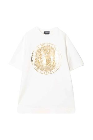 White dress with frontal press Young Versace YOUNG VERSACE | 11 | YC000202YA00078A1002