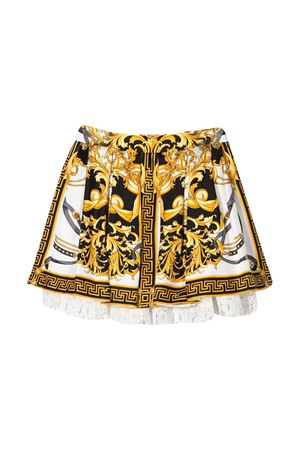 Skirt with multicolor baroque press Young Versace YOUNG VERSACE | 15 | YC000206A233325A7001