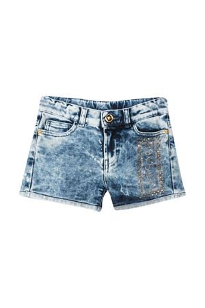 Denim shorts with rear logo Young Versace YOUNG VERSACE | 30 | YC000220A233594A8005