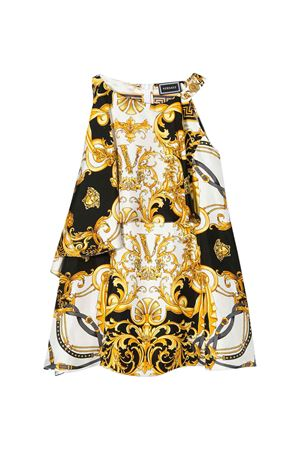 Midi dress with multicolor baroque press Young Versace YOUNG VERSACE | 11 | YC000241A233325A7001