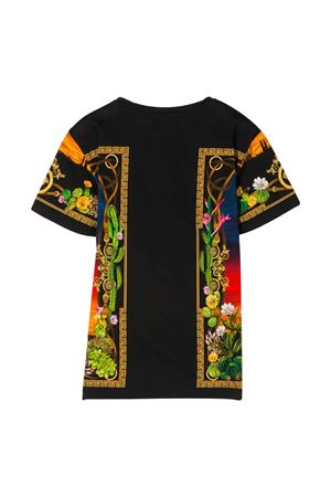T-shirt con stampa barocca multicolor Young Versace YOUNG VERSACE | 8 | YC000249A232867A7000