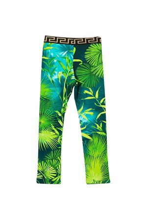 Pantaloni con stampa tropicale Young Versace YOUNG VERSACE | 9 | YC000395A235479A7488