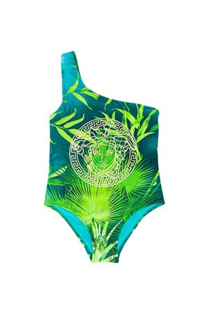 One piece swimsuit with multicolor press Young Versace YOUNG VERSACE | 85 | YC000396A234851A7488